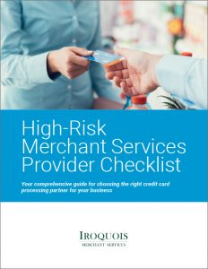 High-risk merchant provider checklist
